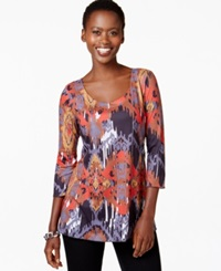 Miraclesuit Shaping Graphic Print Top