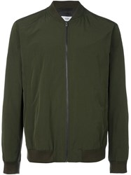 Closed Classic Bomber Jacket Green