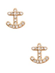 Kate Spade Anchors Away Pave Anchor Studs