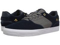 Emerica The Reynolds Low Vulc Navy Grey Men's Skate Shoes Gray