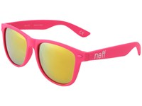 Neff Daily Shades Pink Rubber Sport Sunglasses