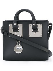 Sophie Hulme Mini 'Albion' Tote Bag Black