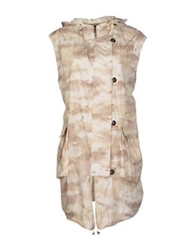 Jet Set Full Length Jackets Beige