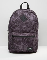New Balancew Jls16 Backpack In Black Black