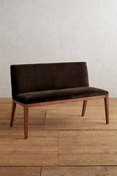 Anthropologie Velvet Emrys Bench Chocolate