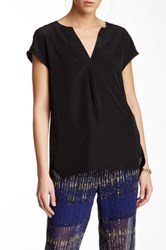 Zoa Cap Sleeve Blouse Black