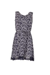 Dorothy Perkins Voulez Vous Navy Lace Sleeveless Shift Dress
