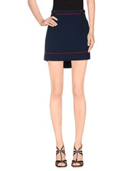 Fay Skirts Mini Skirts Women Dark Blue
