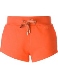 Gucci Drawstring Shorts Yellow And Orange