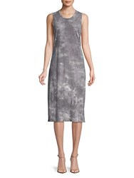 Candc California Sleeveless Knee Length Dress Grey