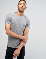Bellfield Nylon Pocket T Shirt Grey