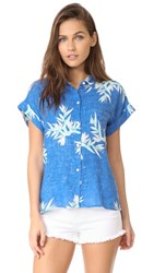 Rails Whitney Button Down Shirt Birds Of Paradise