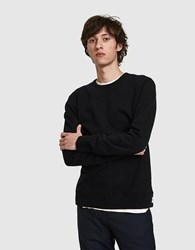Reigning Champ Core Crewneck In Black