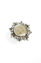 Virgins Saints And Angels Cloister Ring Silver Black Diamond