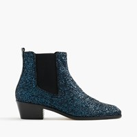 J.Crew Collection Chelsea Glitter Boots