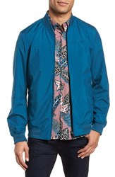 Ted Baker London Ohta Bomber Jacket Teal