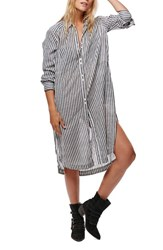 Free People Women's Faded In The Morning Shirtdress