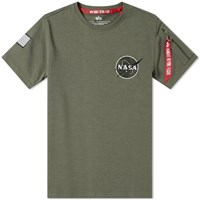 Alpha Industries Nasa Heavy Tee Green