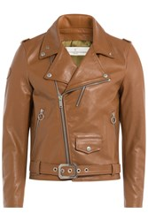 Golden Goose Biker Jacket Camel