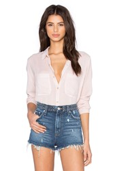 Rolla's Skinny Stripe Button Up Pink