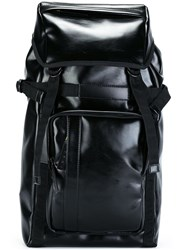 Marni Eco Leather Backpack Black
