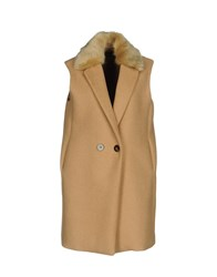 Guess By Marciano Coats And Jackets Coats Beige