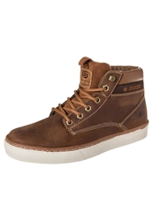 Dockers By Gerli Laceup Boots Reh Brown