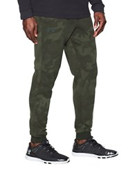 Under Armour Ua Rival Fleece Patterned Jogger Pants Artillery Green