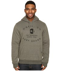 O'neill The Sherps Pullover Fashion Fleece Olive Men's Fleece