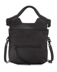 Foley Corinna Disco City Small Leather Tote Bag Black Pattern