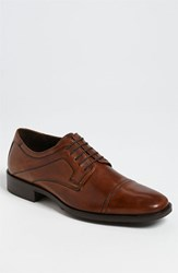 Men's Johnston And Murphy 'Larsey' Oxford Tan
