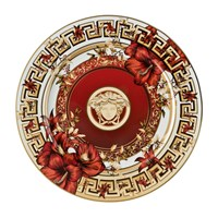 Versace Christmas Blooms 2016 Limited Edition Plate