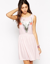 Wildfox Couture Wildfox Cherie Skull Dress Strawberry