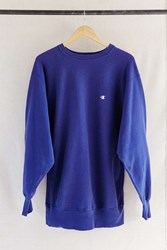 Urban Renewal Vintage Champion Indigo Sweatshirt Assorted