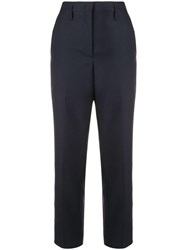 Golden Goose Deluxe Brand Tailored Cropped Trousers Blue