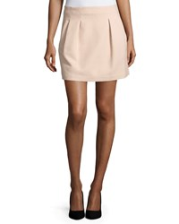 See By Chloe Pleated A Line Skirt Blush