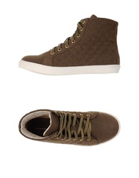 Silvian Heach High Tops And Trainers Cocoa