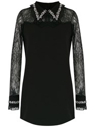 Andrea Bogosian Shift Dress Black