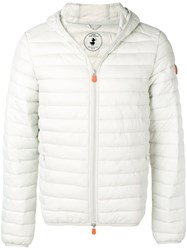 Save The Duck Classic Padded Jacket Grey