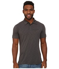 Jack Wolfskin Travel Polo Dark Steel Men's Clothing Brown