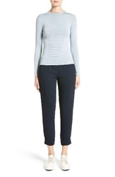 Armani Collezioni Women's Micro Pipe Knit Top Cloud