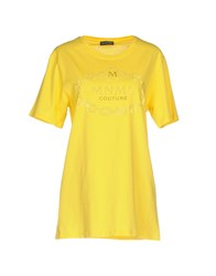 Mnml Couture T Shirts Yellow