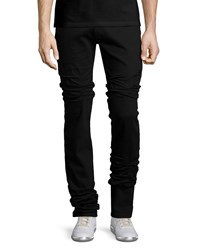 Maison Martin Margiela Five Pocket Straight Leg Stretch Jeans Black