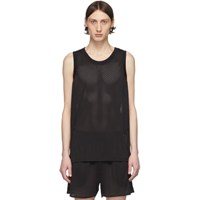 Rick Owens Black Champion Edition Tank Top