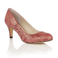 Lotus Colombina Animal Print Courts Red