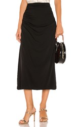 Theory Twisted Skirt In Black.
