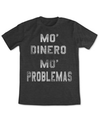 Fifth Sun Dinero T Shirt Charcoal Heather