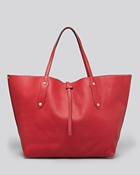 Annabel Ingall Isabella Large Leather Tote Cherry