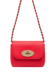 Mulberry Mini Lily Grained Leather Shoulder Bag