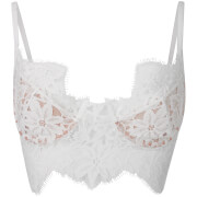 For Love And Lemons Women's Sage Underwired Bralet Ivory White